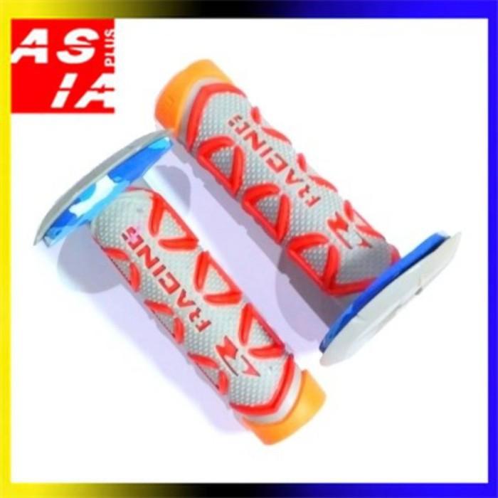 harga Handfat karet stang variasi sepeda motor racing orange aksesoris keren Tokopedia.com