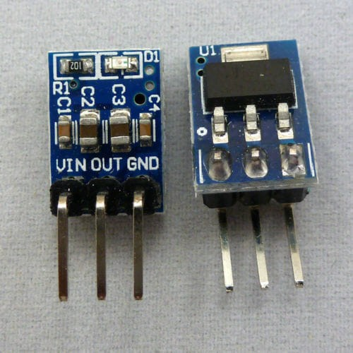Foto Produk AMS1117 3.3V 3V3 Step Down Buck DC Converter LDO Module dari Arfa Arduino Robot