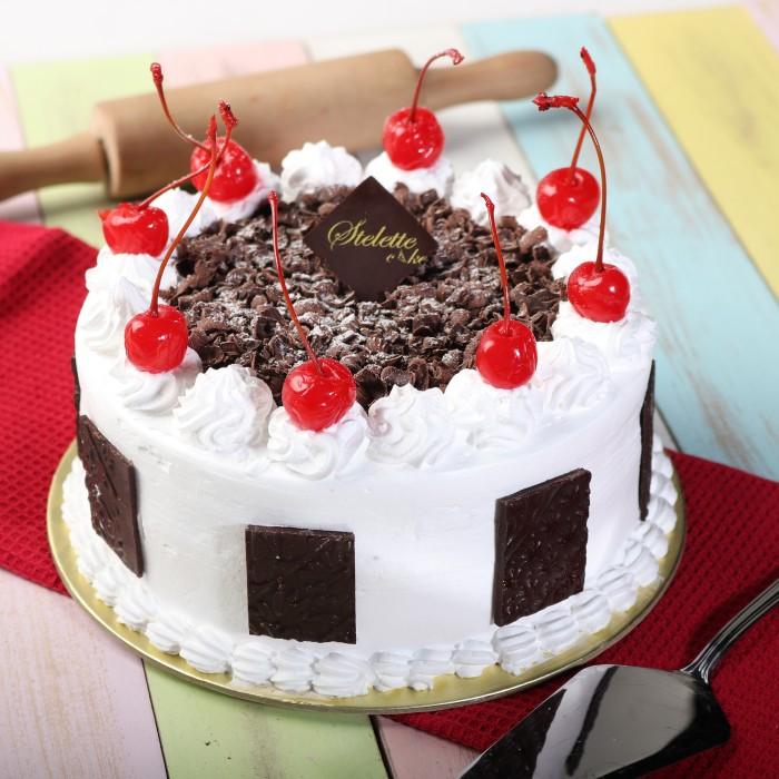 Jual Kue Ulang Tahun Blackforest Diameter 16 Cm Murah Enak Birthday Cake Jakarta Barat Stelete Cake Tokopedia