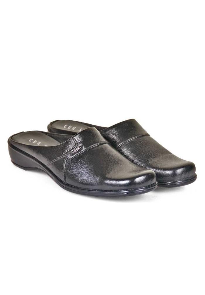 Jual sepatu sandal wanita formal hitam bustong wanita kulit murah ... 7b01a073e5
