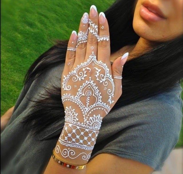 Jual Henna Putih Waterproof 1 2 Lusin Isi 6 Pcs Itc Henna