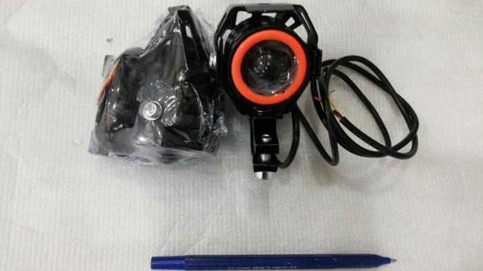 Lampu Tembak Motor LED U8 Mini
