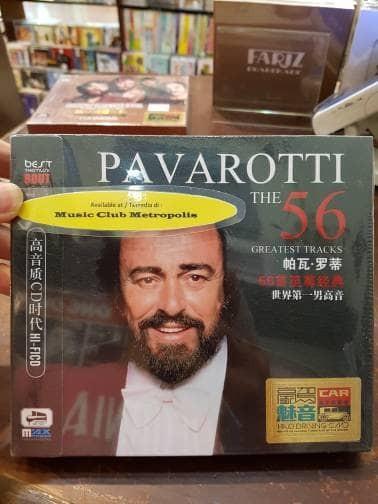 harga Cd luciano pavarotti - the best (3cd) imported china Tokopedia.com