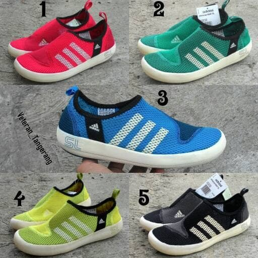 harga Sepatu sneaker adidas climacool boat sl quick dry original Tokopedia.com