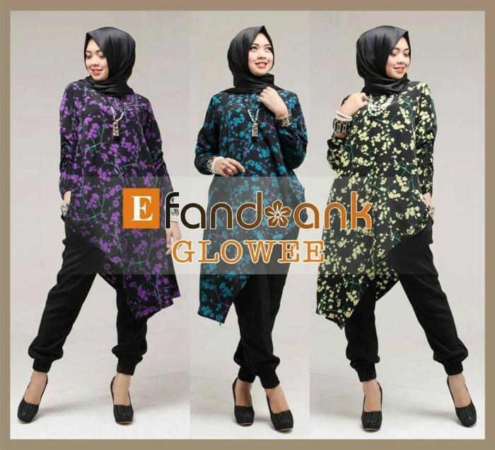 harga Sale baju butik glowee by efandoank original set tunik celana jogger Tokopedia.com