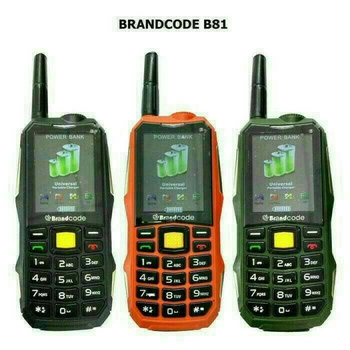 harga Hp brandcode b81(batt 10000 mah) portable charger Tokopedia.com