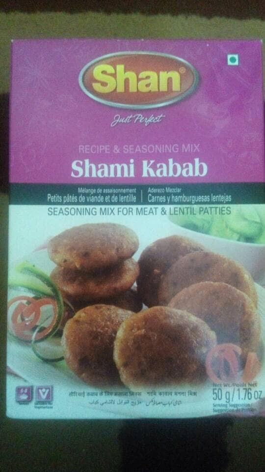 Bumbu burger daging shan shami kabab