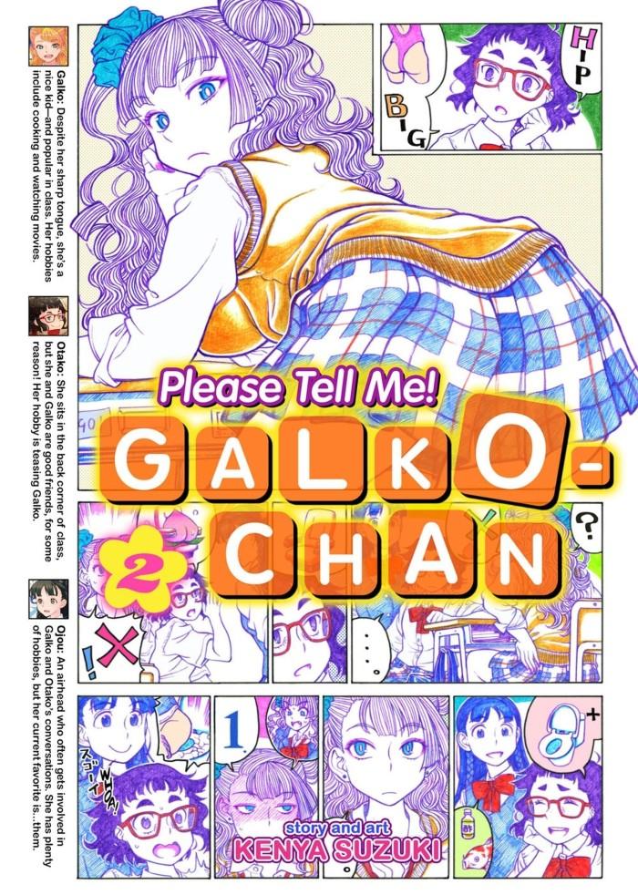 harga Please tell me! galko-chan vol. 2 (manga) Tokopedia.com