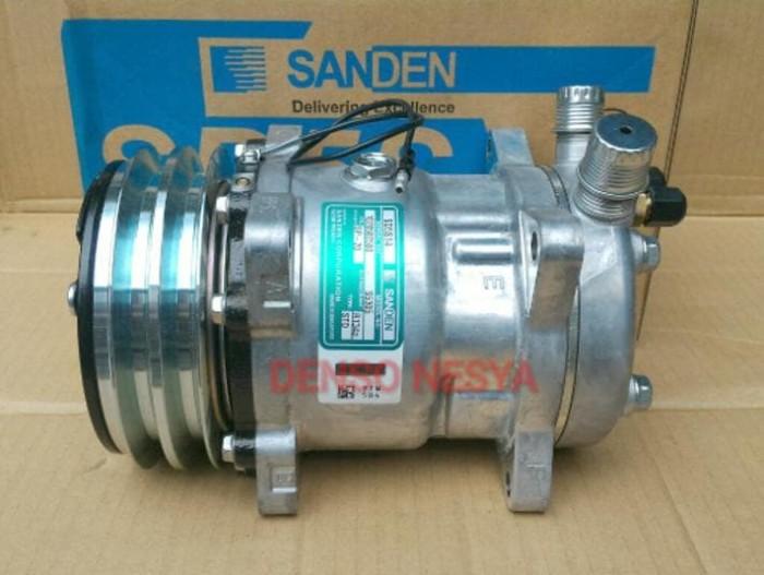 Jual Compressor Compresor Kompresor AC Mobil SANDEN SD508 / SD 508/ SD5H14  - Kota Probolinggo - DENSO AC MOBIL | Tokopedia