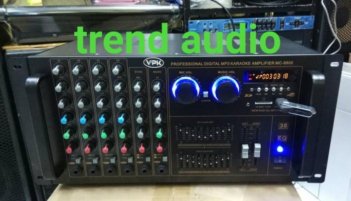 harga Power amplifier mixer karaoke vpk mc-8800 Tokopedia.com