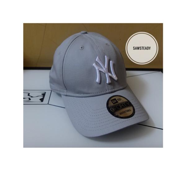 harga New era yankees grey 9forty cap / topi new york Tokopedia.com