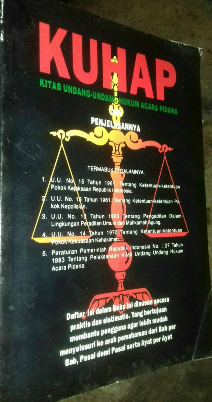 harga Kuhap kitab undangan undangan hukum acara pidana dan penjelasannya. Tokopedia.com