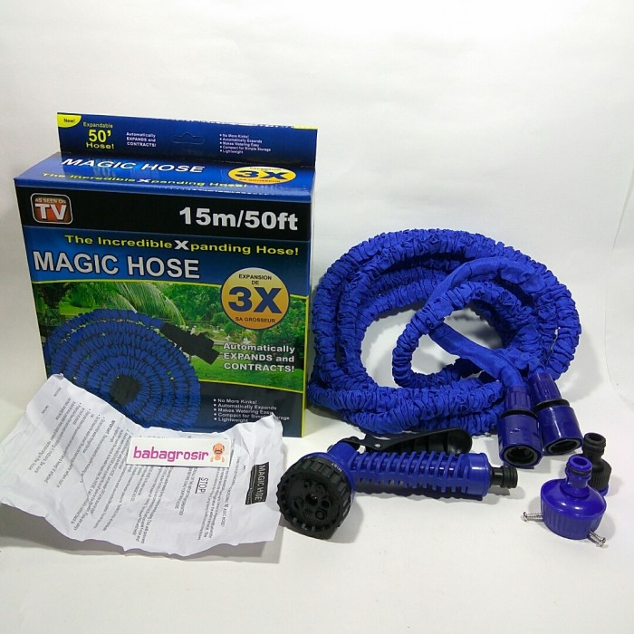 harga Magic hose 15 m / 50 ft selang magic hose 15m Tokopedia.com