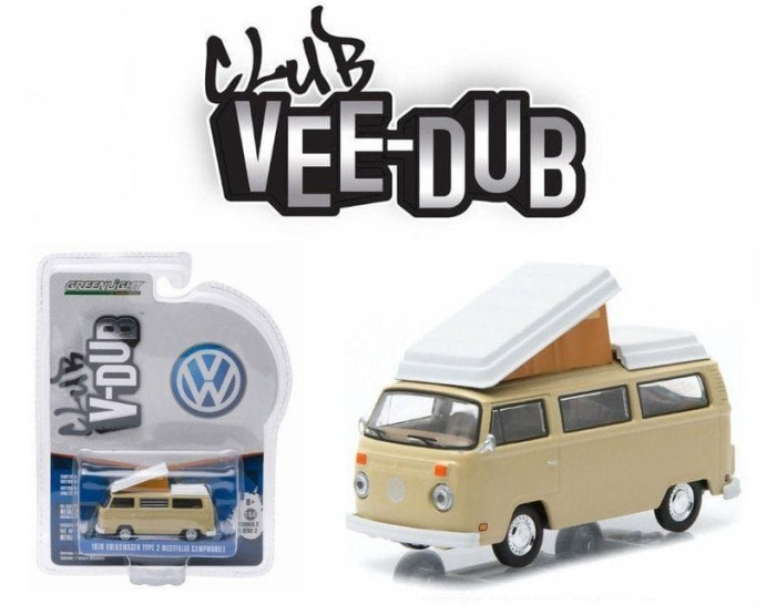 Greenlight V-DUB Series 2 - 1970 VW Type 2 Westfalia Campmobile Beige