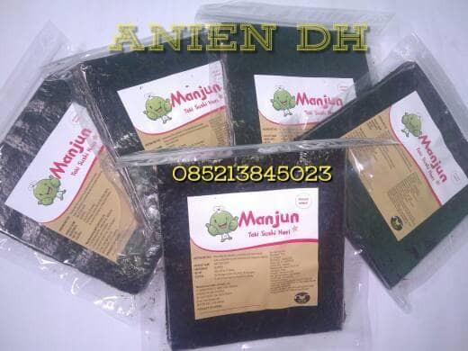 harga Manjun yaki sushi nori/ rumput laut/ seaweed/ 50sheet/ murah/ termurah Tokopedia.com