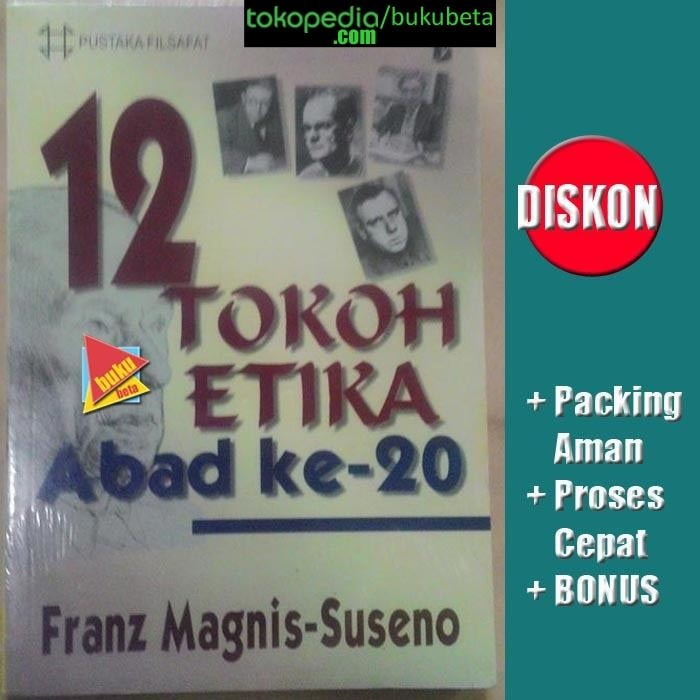 harga 12 tokoh etika abad ke-20 - franz magnis-suseno Tokopedia.com