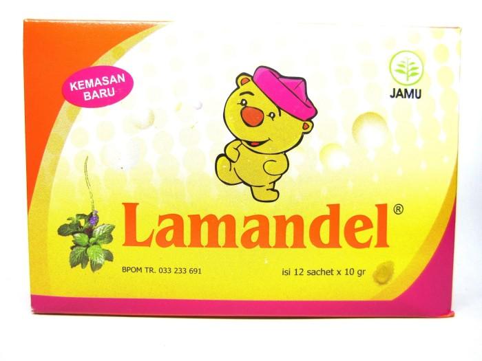 LAMANDEL Bubuk Obat Herbal utk Amandel dan daya tahan tubuh 12 sachet