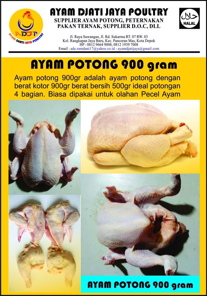 harga Ayam potong ekor 900gram Tokopedia.com