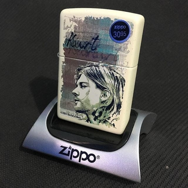 Zippo kurt cobain cream matte 29051 ...