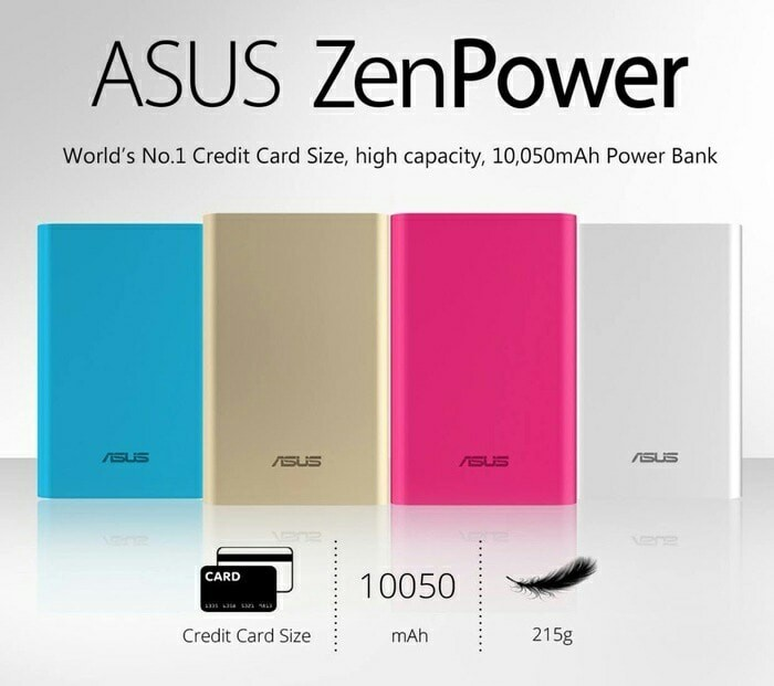 harga Asus powerbank zenpower original 10050mah original Tokopedia.com