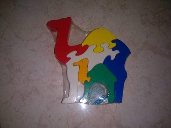 harga Puzzle 3d unta, mainan edukatif edukasi anak kayu unik ape tk paud Tokopedia.com