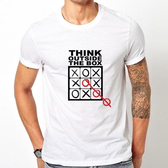 kaos distro murah think out side the box