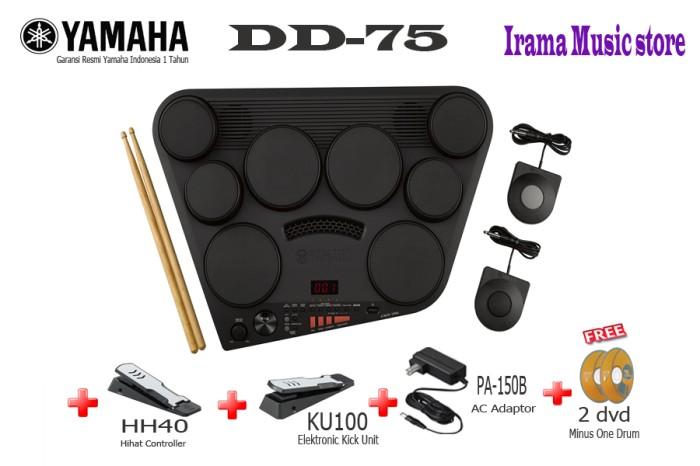 harga Yamaha drum pad elektrik digital dd-75 / dd75 / dd 75 Tokopedia.com