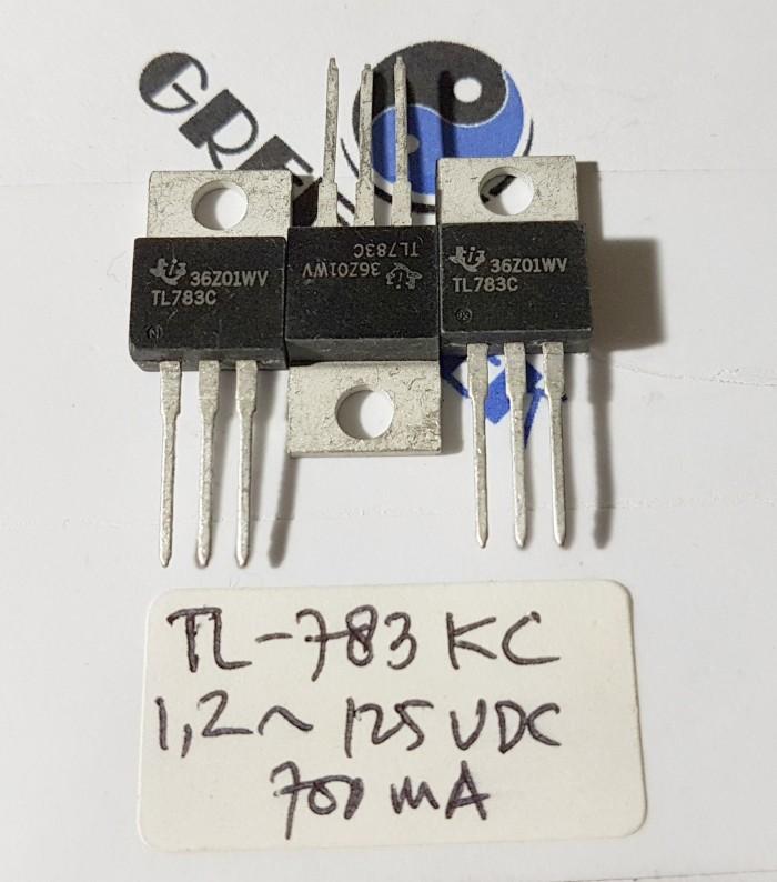 Foto Produk TL783KC IC Regulator 3 pin 1,2V~125VDC 700mA Output 0,2% Regulation. dari Greentek Surabaya