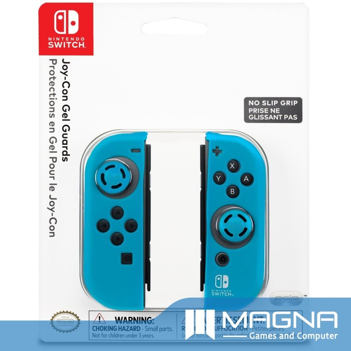 harga Nintendo Switch Pdp Joy-con Gel Guards - Blue Tokopedia.com