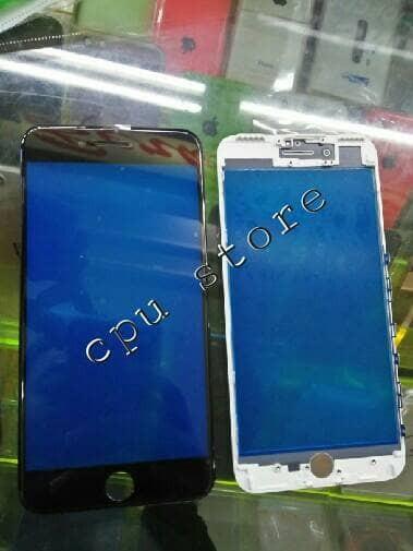 harga Kaca lcd/kaca touscren/kaca depan plus frame iphone 7 plus. Tokopedia.com