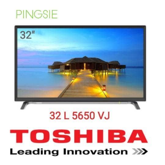 harga Toshiba 32 l 5650 vj - 32inch smart tv - usb movie 32inch led Tokopedia.com