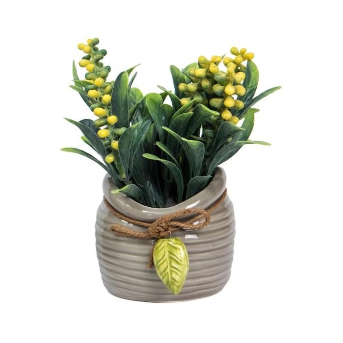harga Laikas kuning | vas pot bunga artificial hiasan dekor interior unik Tokopedia.com