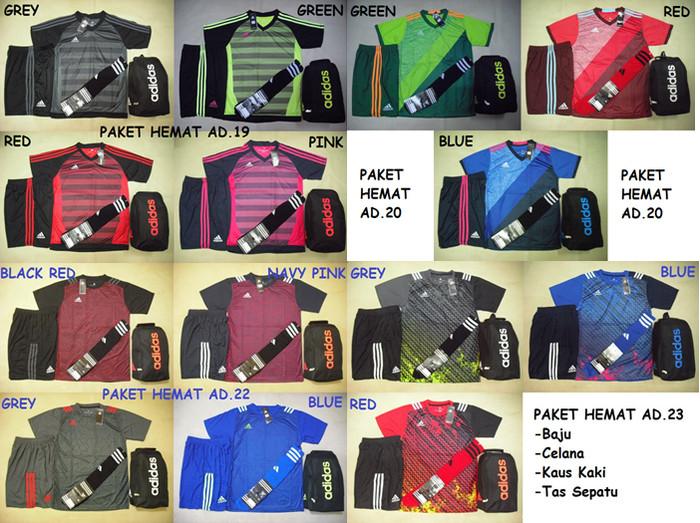 harga Paket hemat baju futsal bola (baju+celana+kaus kaki+tas sepatu) Tokopedia.com