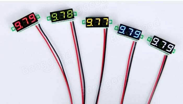 harga Voltmeter digital mini dc 12 volt Tokopedia.com