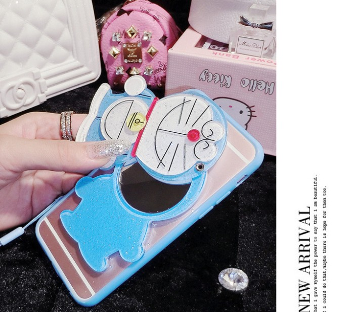 harga Casing cute 3d oppo f3/f3 plus/r9s + mirror makeup case cartoon silico Tokopedia.com