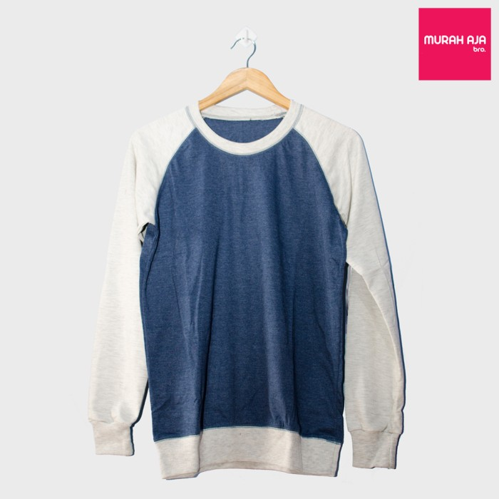 Sweater polos - blue gray misty