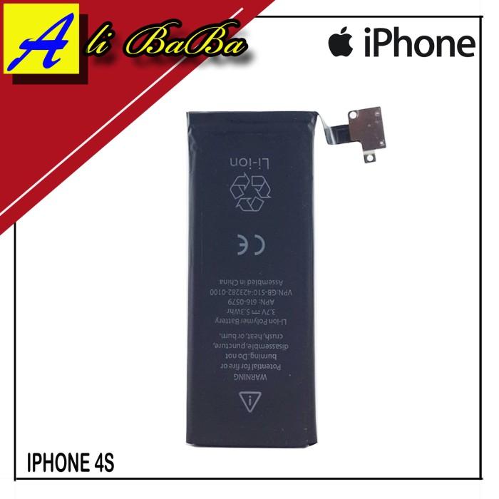 harga Baterai handphone iphone 4s 4c batre hp battery apple original Tokopedia.com
