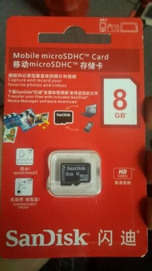 harga Memory hp mmc micro sd sandisk 8gb Tokopedia.com