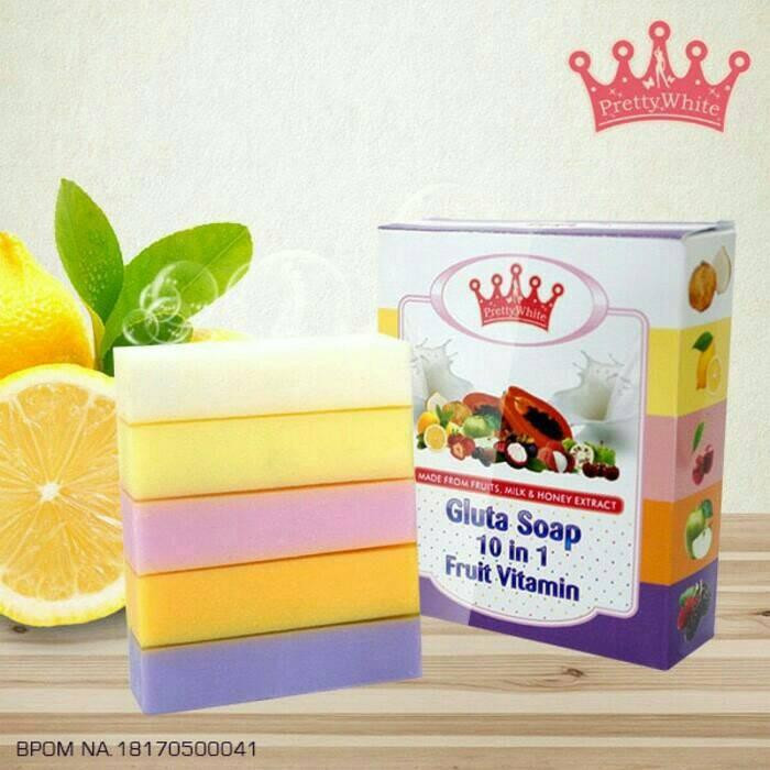 harga Fruitamin bpom - gluta soap 10 in 1 fruit vitamin original Tokopedia.com