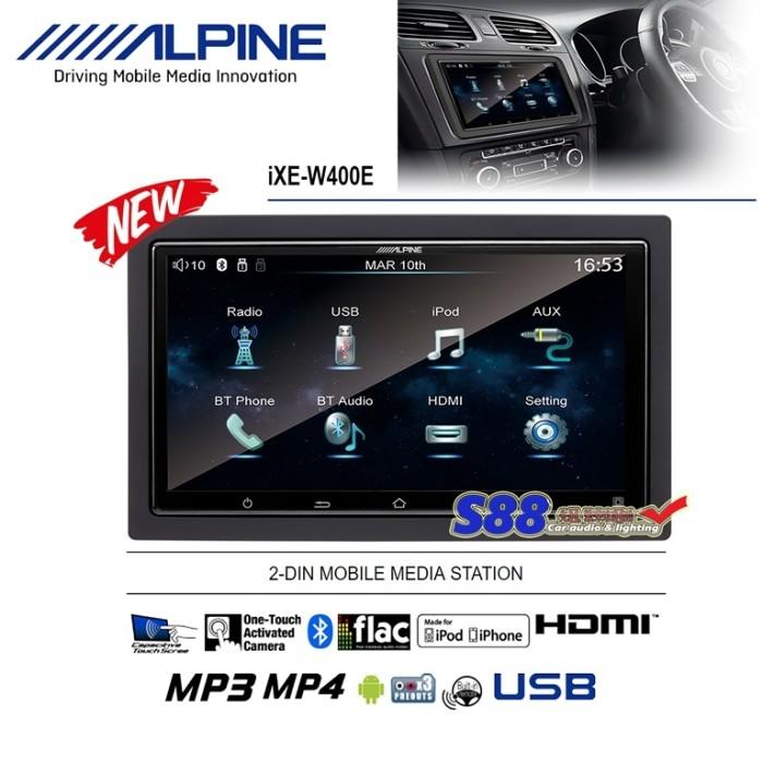 Alpine IXE-W400E HDMI Mirrorlink