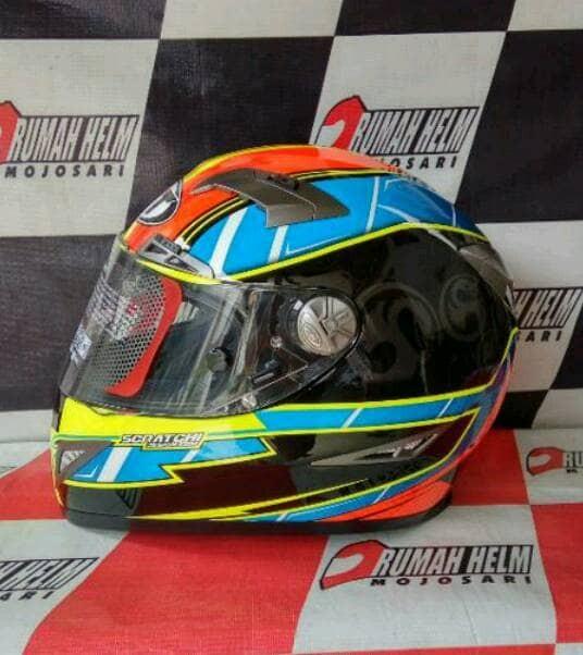 36eac99a Jual Helm KYT C5 motif Xavier Simeon Moto GP Rider #19 - Kota ...