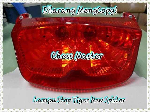 harga Lampu belakang/stop honda tiger new 2006 assy (model laba laba) Tokopedia.com