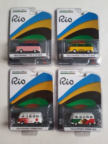 Greenlight VW Combi Rio edition LIMITED