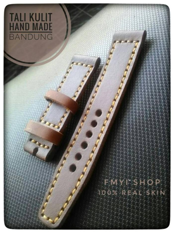 harga Tali jam tangan kulit asli - mocha Tokopedia.com