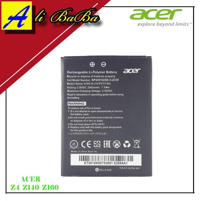 harga Baterai handphone acer z4 z140 z160 batre hp battery acer original Tokopedia.com