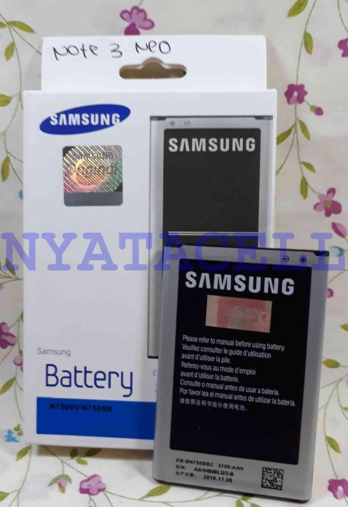Foto Produk Baterai Samsung Galaxy Note 3 NEO Original 100% Batre Ori Sein 3100mAh dari NYATACELL