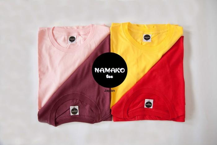 Jual Namako Tee Warna Merah Kaos Polos Tshirt Baju Murah