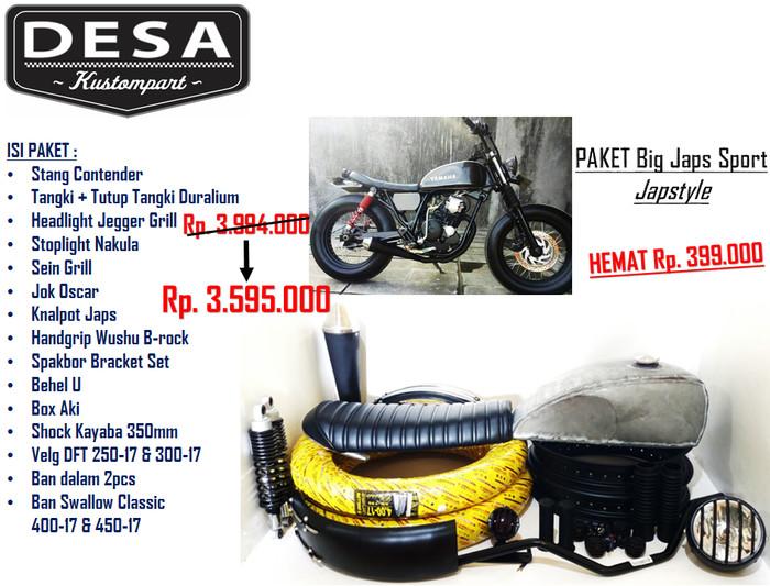 harga Paket motor big japs sport Tokopedia.com
