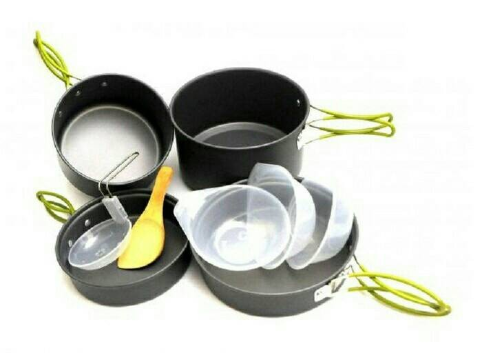 Alat masak camping cooking set ds-301 ds301 ds 301 not ds-200 ds-300