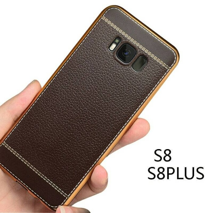 harga Samsung galaxy s8 s8plus s8+ plus tpu leather back cover soft case Tokopedia.com